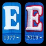 野球帽ロゴ「E」のリニューアル